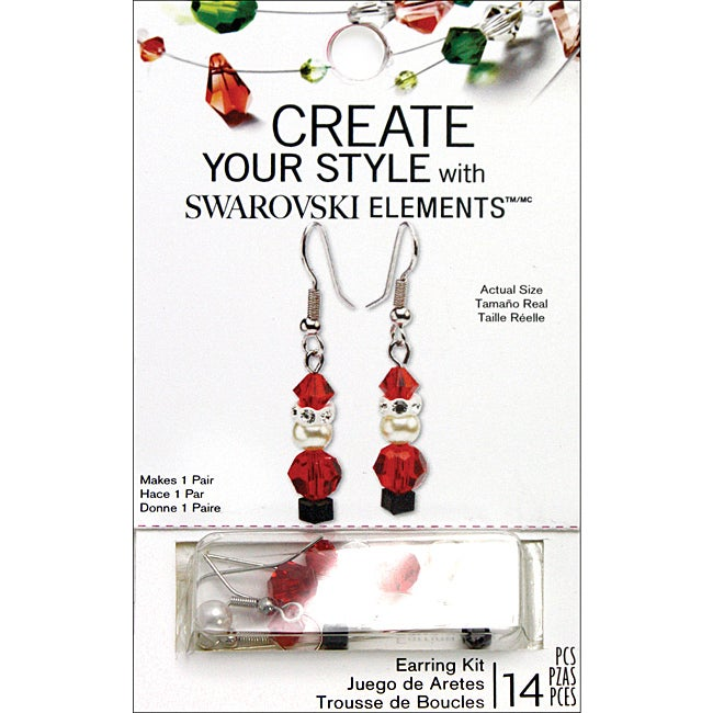 Create Your Style 'Santa' Earring Kits (1 Pair)