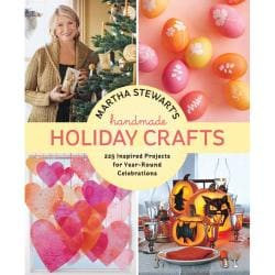 Martha Stewart Handmade Holiday Crafts Potter Craft Book