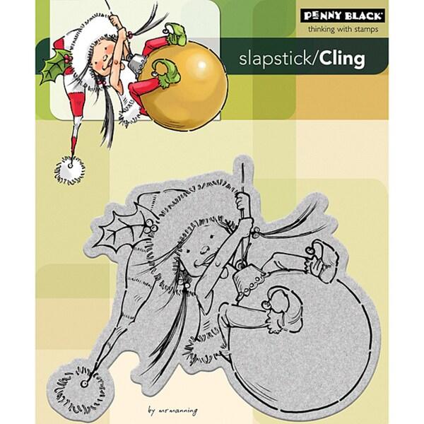 Penny Black 'Little Elf Mim' Cling Rubber Stamp