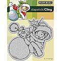 Penny Black 'Little Elf Finn' Cling Rubber Stamp