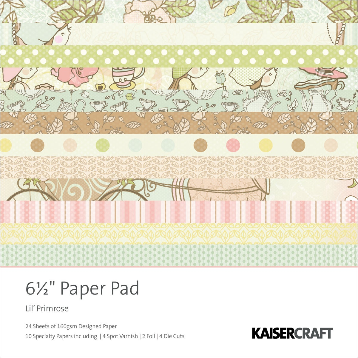 Kaisercraft 'Lil' Primrose' Paper Pad