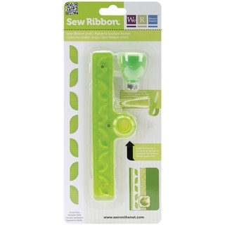 We R Memory Keepers Sew Ribbon Leaf Tool and Stencil