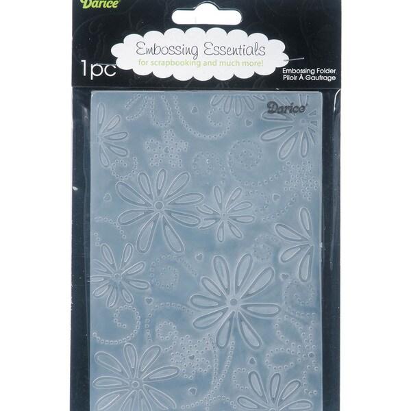 Large Petals Embossing Folder