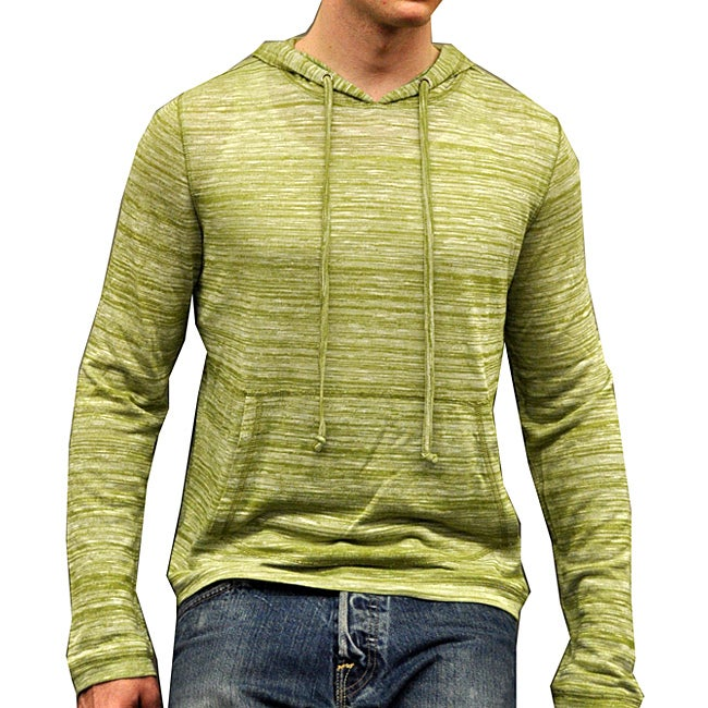 Something Strong Men's Green Pullover Hoodie