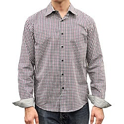 Something Strong Men's Purple Plaid Shirt