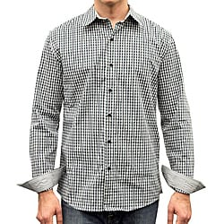 Something Strong Men's Green Plaid Shirt