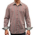 Something Strong Men's Red Plaid Button Shirt