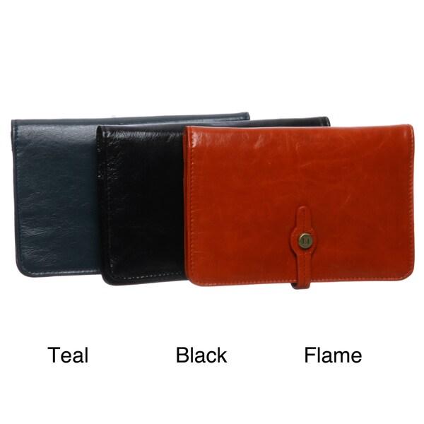 Latico Women's Josie Leather Front-flap Wallet