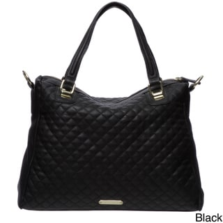 Steve Madden Quilted Satchel Bag