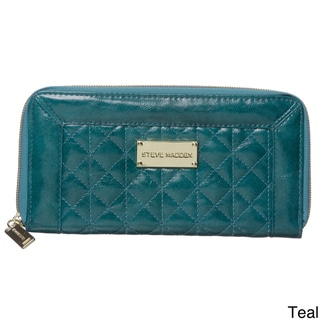Steve Madden B-Gina Quilted Zip Wallet