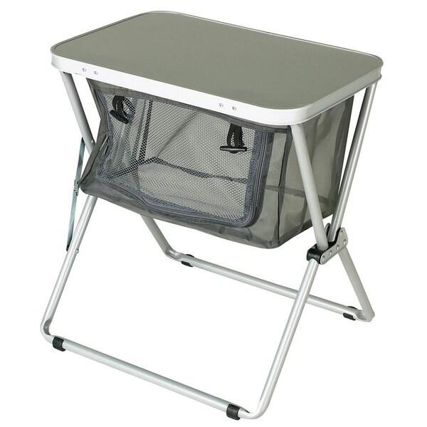 Rokk Portable Aluminum End Table