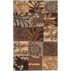 Hand-tufted Brown Basslets Rug (3'6 x 5'6)