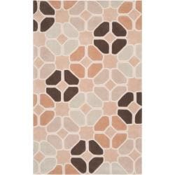 Hand-tufted Contemporary Geometric Hamlet Abstract Rug (9' x 13')