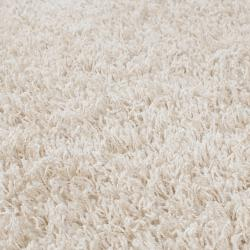 Woven Ivory Debacle Plush Shag (5' x 8')