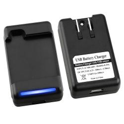 BasAcc Battery Desktop Charger for LG G2X