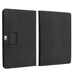 BasAcc Black Leather Case for Samsung Galaxy Tab P7500