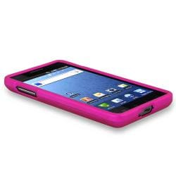 BasAcc Hot Pink  Rubber Coated Case for Samsung SGH-i997 Infuse 4G