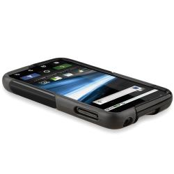 BasAcc Frost Black TPU Rubber Case for Motorola Atrix 4G MB860