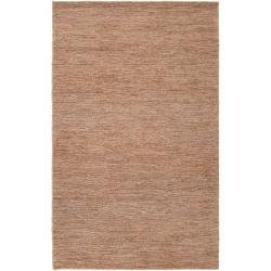 Hand-woven Gray Dominican Natural Fiber Hemp Rug (3'3 x 5'3)