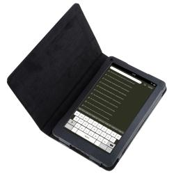 Black Case/ LCD Protector/ Charger/ Cable for Amazon Kindle Fire