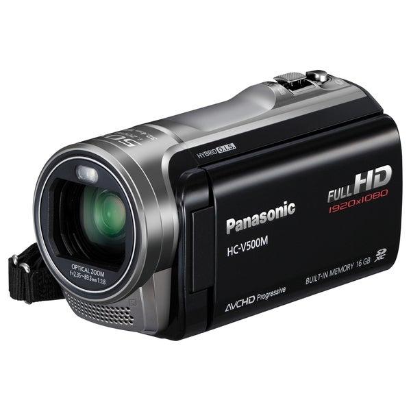 "Panasonic HC-V500M Digital Camcorder - 3"" - Touchscreen LCD - MOS - F"