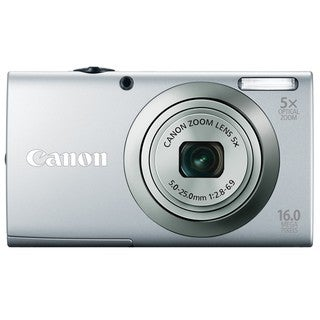 Canon Powershot A2300IS 16MP Silver Digital Camera