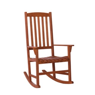 Anton Eucalyptus Natural Oil Finish Porch Rocker