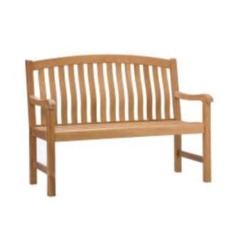 Upton Home Cade 4-foot Light Brown Bench