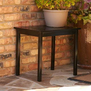 Abella Black End Table