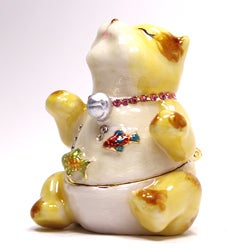 Cristiani Kitty Porcelain Trinket Box