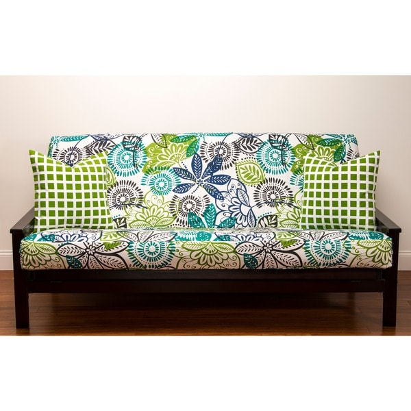 bali queen size futon cover 14138444 shopping the best prices on siscovers. Black Bedroom Furniture Sets. Home Design Ideas