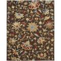 Safavieh Handmade Botanical Gardens Brown Wool Area Rug (8' x 10')