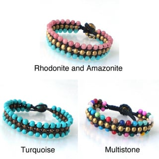 Round Harmony BeadsToggle Bracelet (Thailand)