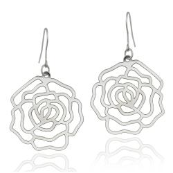 Mondevio Stainless Steel Flower Earrings