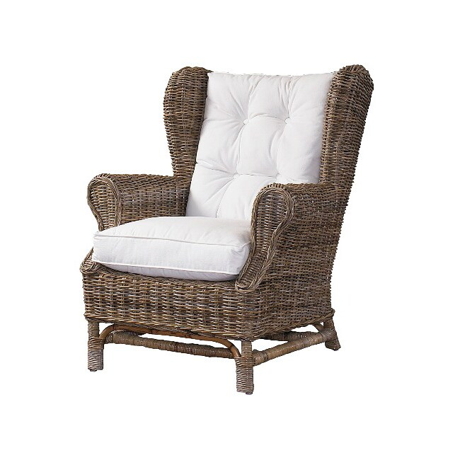 Wing Kubu Grey Chair with Cushion