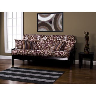 Rockin Around Machine-Washable Polyester Full-Size Futon Cover