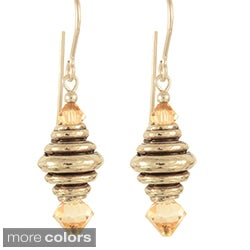 'Jewels of the Honey Bee' Earrings