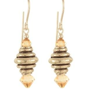 'Jewels of the Honey Bee' Earrings