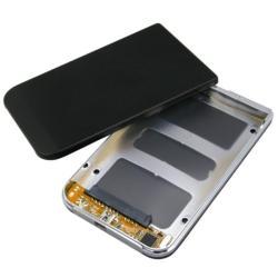 INSTEN 2.5-inch Black SATA Hard Plastic Disk Drive Enclosure Storage System