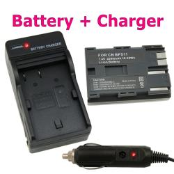 BasAcc Camera Battery/ Charger for Canon EOS/ 20D/ 30D/ 40D /D60/ G5