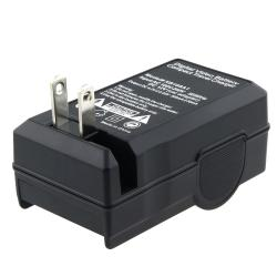 BasAcc Camera Battery and Charger for Nikon