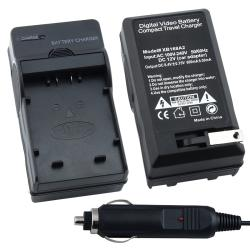 BasAcc Compact Battery Charger for Panasonic CGA-S006 / CGR-S006