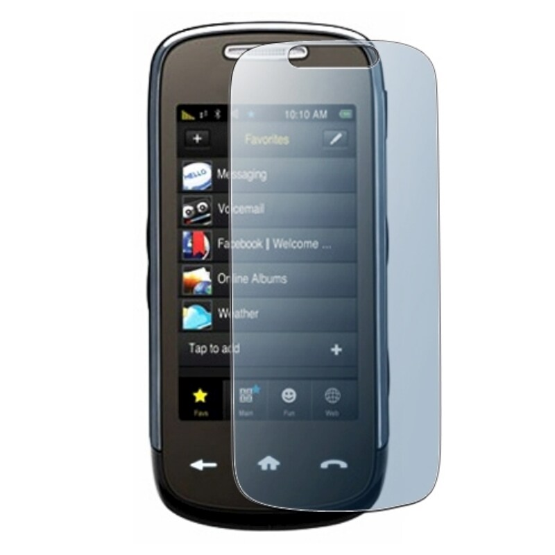 BasAcc Reusable Screen Protector for Samsung M810 Instinct Mini S30