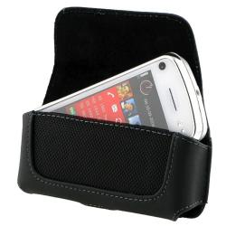 BasAcc Black Leather Case w/ Cover for Nokia N97