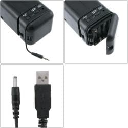 INSTEN Foldable Speaker and 3.5mm Audio Adapter for iPhone 3G