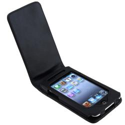 INSTEN Apple iPod Touch Gen2 Leather Case Cover and Screen Protector