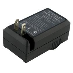 BasAcc Compact Battery Charger Set for Samsung SLB-10A / 11A