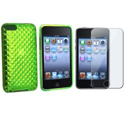 BasAcc TPU Case and LCD Screen Guard for iPod Touch Gen 2/ 3