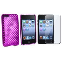 BasAcc TPU Case and Screen Guard for iPod Touch Gen 2/ 3