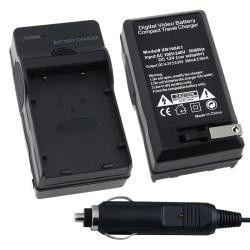 BasAcc Compact Digital Camera Battery Charger Set for Nikon EN-EL5